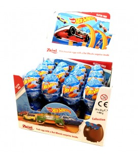 Huevos de chocolate Hot Wheels