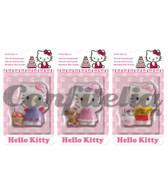 Hello Kitty birthday candle