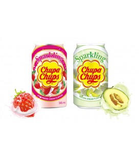 Chupa Chups Strawberry-Melon Drinks pack