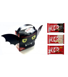 Maletin Kit Kat Murcielago Halloween