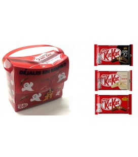 Maletin Kit Kat rojo Halloween