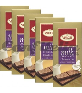 Valor chocolate tablets 100 grs.
