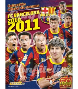 FC Barcelona 2010-2011 stickers launch pack of Panini