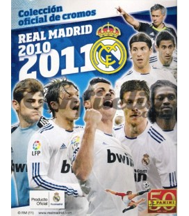 Real Madrid 2010-2011 stickers collection of Panini