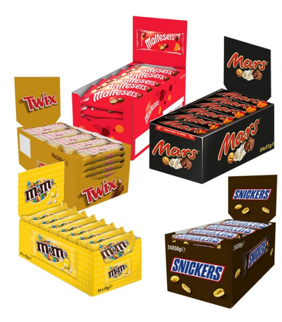 Mars chocolates pack 4+1