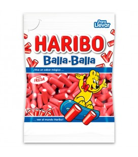 Liquorice Strawberry Balla Haribo