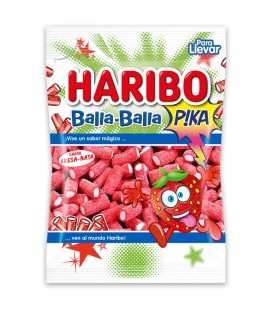 Liquorice Strawberry Balla Sour Haribo