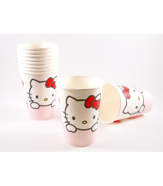 Hello Kitty decorated cup