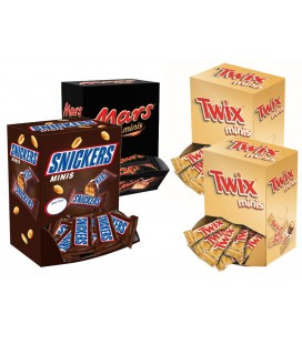 Pack de chocolates Mars Fun Size