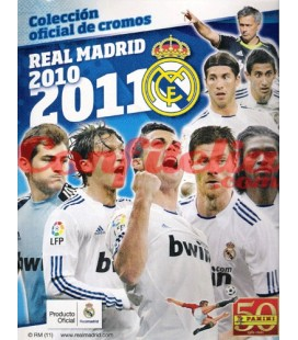Real Madrid 2010-2011 stickers collection launch pack