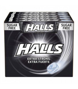 Halls Extra strong candy