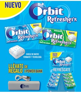 Pack lanzamiento Orbit Refreshers