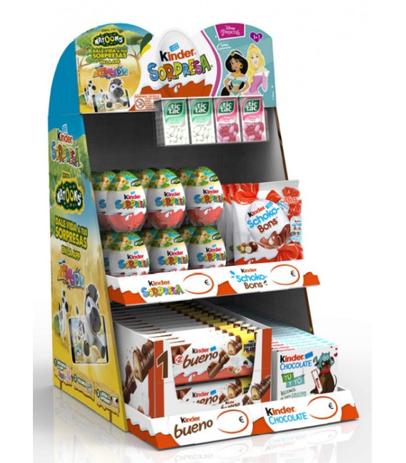 Kinder Top 4 chocolates pack