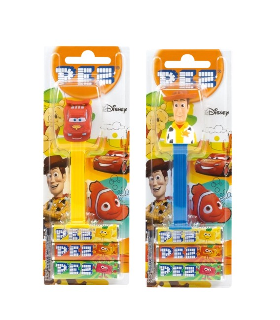 Disney Pez candy dispensers