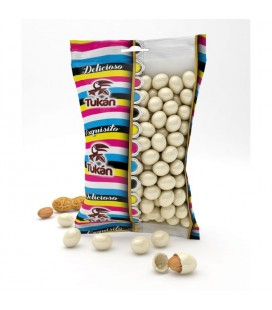 White Tukanitos chocolate peanuts