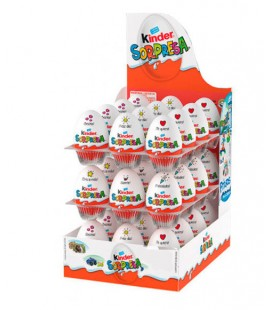Kinder Surprise chocolate eggs 36