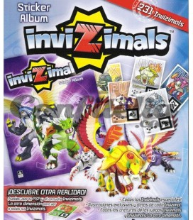 Sony PSP Invizimals stickers Panini