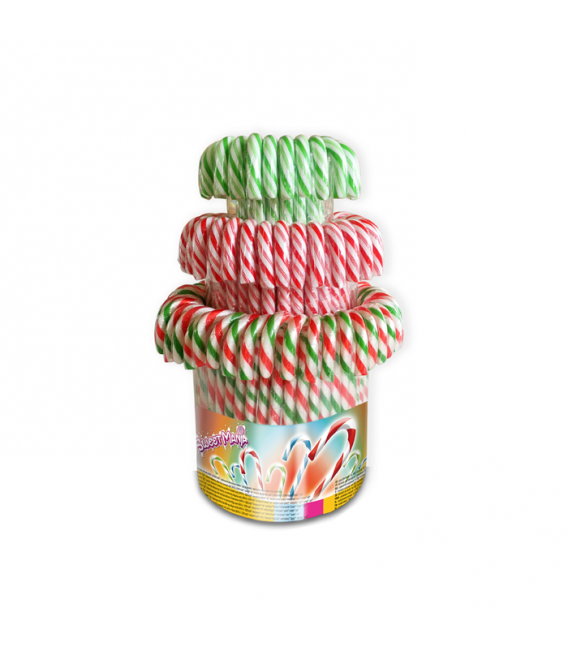 Coloured Candy Canes 12 g