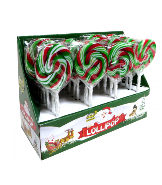 Christmas round Lollipops 30 g
