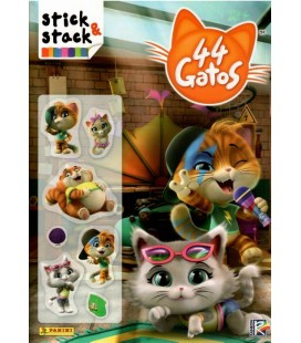 Stick & Stack 44 Gatos de Panini