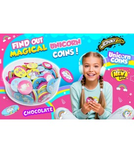 Monedas de chocolate Unicornios