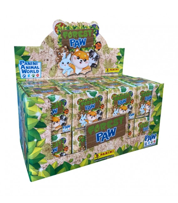 Forest Paw figures Panini