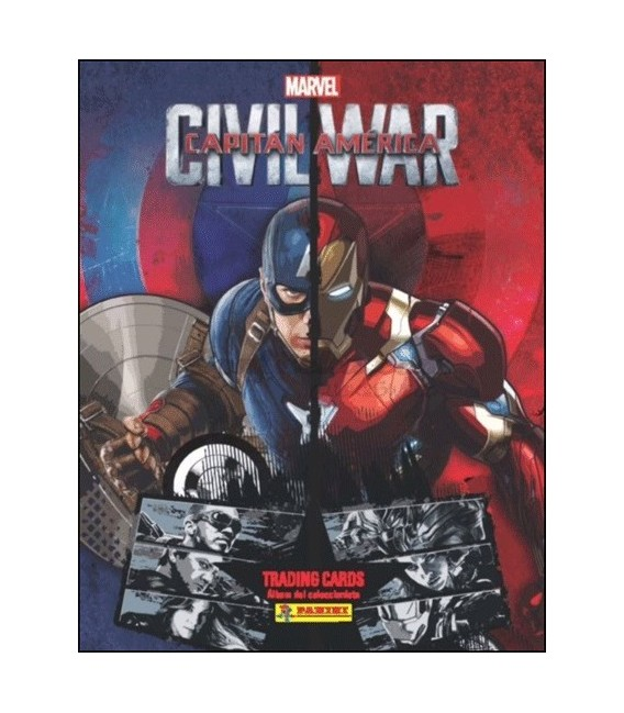 Coleccion Capitan America Civil War de Panini