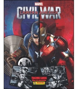 Captain America Civil War Panini trading cards