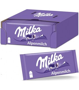 Tableta chocolate con leche Milka 100 g