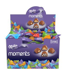 Milka Moments chocolates