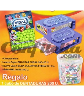 Vidal assorted sweets pack