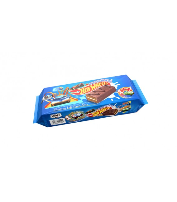 Bizcocho de leche Hot Wheels