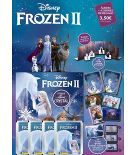 Frozen II Crystal launch pack Panini