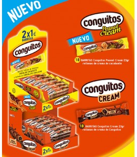 Pack barritas Conguitos Cream