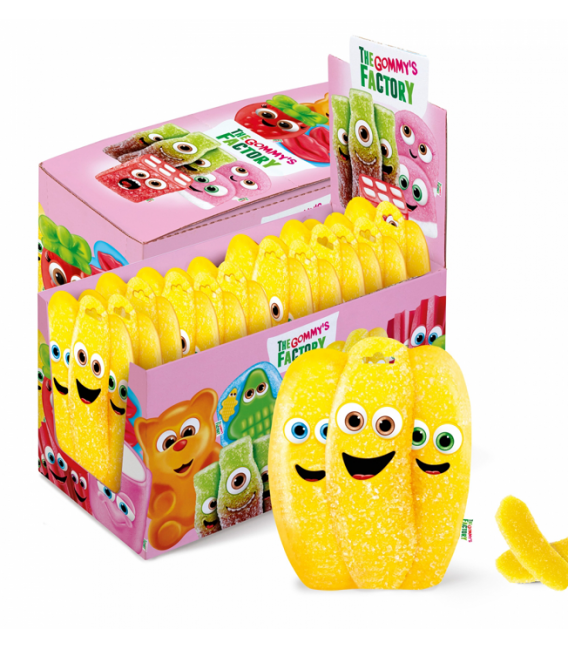 Bananas gummies Gommy's Factory