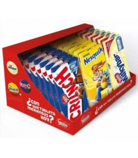 Pack tabletas de chocolate infantiles Nestle