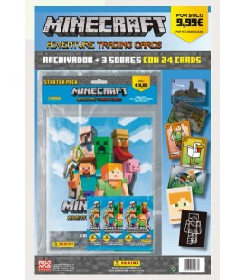 Minecraft launch pack of Panini