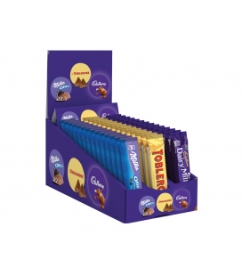 Pack de chocolates Milka