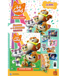 44 Cats collection launch pack of Panini.