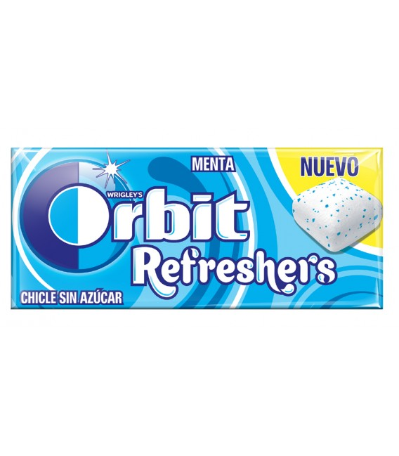 Chicle Orbit Refreshers Menta