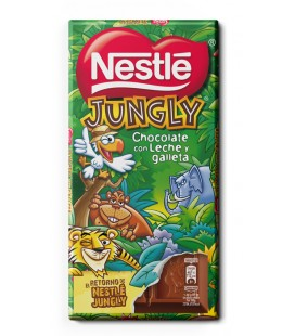 Tabletas de chocolate Jungly de Nestle