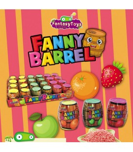 Barriles con caramelos Fanny Barrel