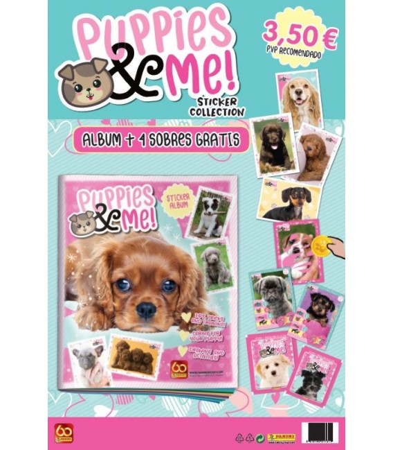 Puppies & Me! Panini launch pack