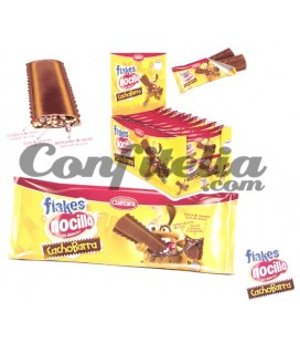 Barritas de chocolate Flakes Nocilla