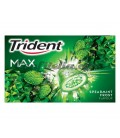 Chicle Trident Max Hierbabuena sin azucar