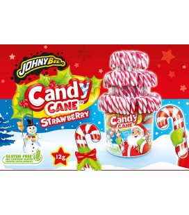 White and red Candy Canes Johny Bee