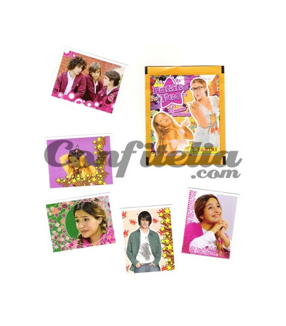 "Patito feo 2 ""El sueño continua"" stickers collection Panini"