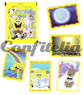 EspongeBob No Stop stickers collection Panini