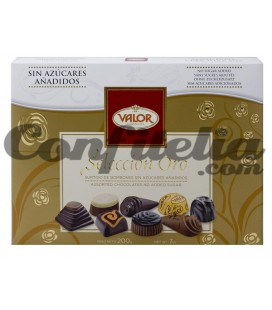 No sugar added chocolates Valor 200 grs.