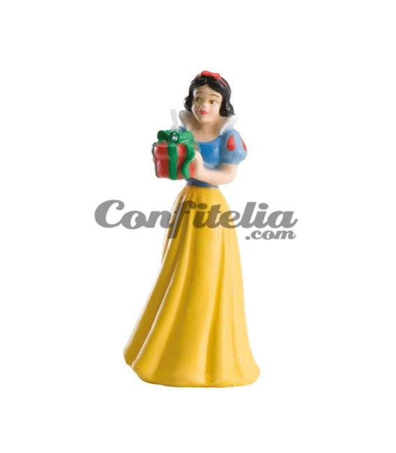 Snow White birthday candle